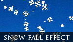 Snow Fall Effect - Fully Customizable