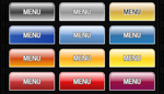 My Flash Aqua Buttons