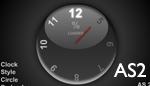 Clock style circle preloader