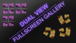 Dual View XML Fullscreen Gallery