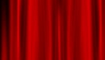 Red Silk Curtains