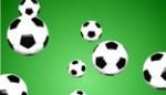 Footballs Falling