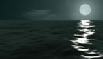 Moonlight Ocean Seascape