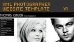 xml photographer website template v1