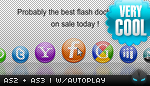 Professional Dock Menu AS2 and AS3