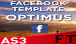 Optimus Facebook Fan Page Template