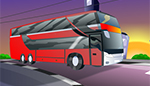 Red Bus animation