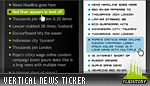 Vertical News Ticker 01
