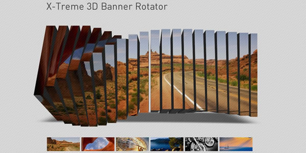 X-Treme 3D Banner Rotator - click for preview