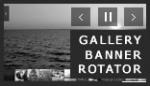 xml banner image photo gallery slideshow rotator html css