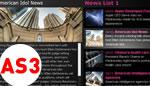 HTML XML AutoPlay News List AS3