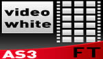 Advanced Video Gallery White AS3