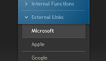 Customizable Vertical Dynamic XML Menu v1