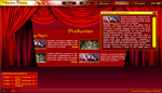 Theater related Site Template