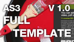 Flash Full Template v 1.0