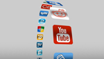 3D Social Media Carousel