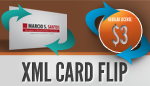 XML Card Flip