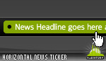 Horizontal News Ticker 03