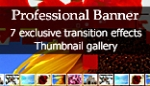 Professional Banner - 7 exclusive transitions